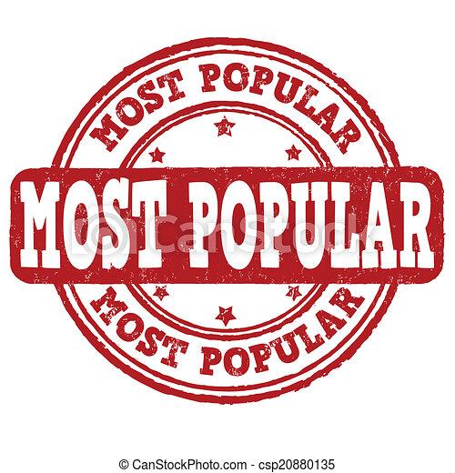 Most popular stamp - csp20880135