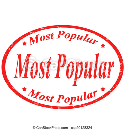 Most Popular-stamp - csp20128324