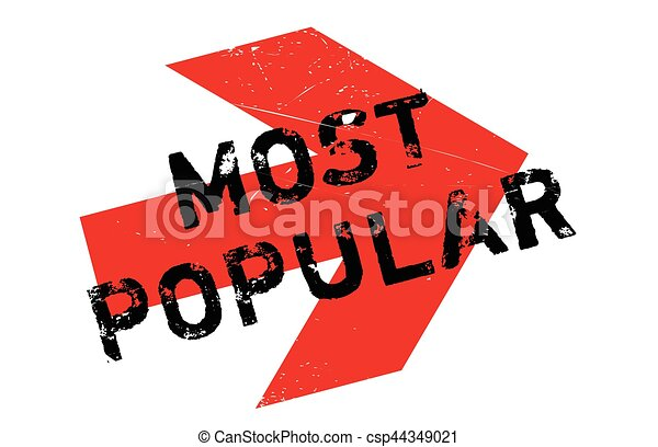 Most popular stamp - csp44349021