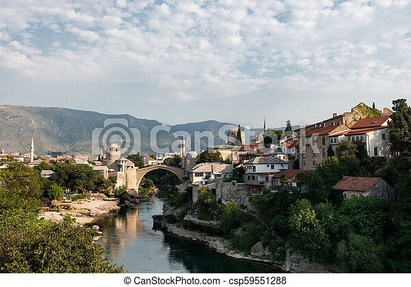 Mostar, Bosnia and Herzegovina. - csp59551288