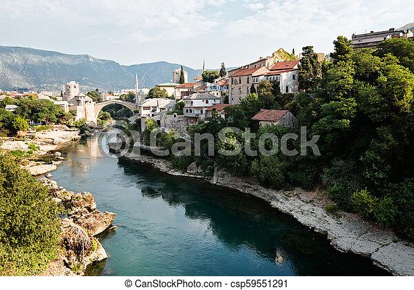 Mostar, Bosnia and Herzegovina. - csp59551291