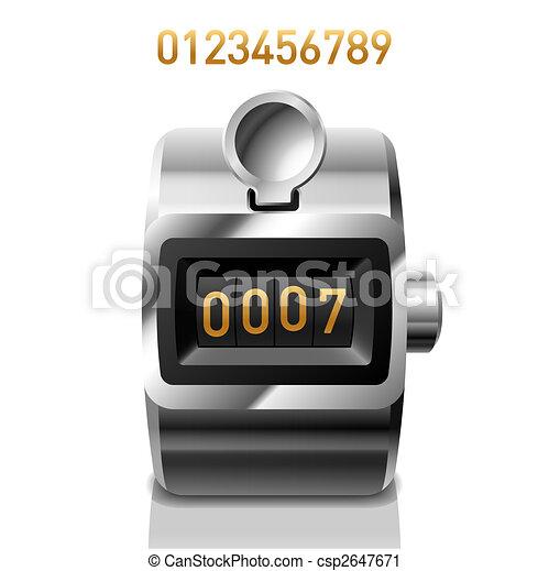 Un mostrador - csp2647671