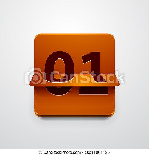 Contra icono del vector - csp11061125