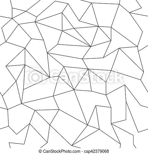 motívum, elvont, seamless, lineáris - csp42379068