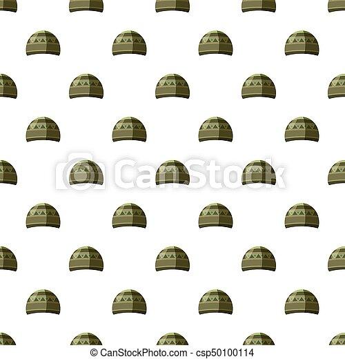 motívum, kalap, seamless - csp50100114