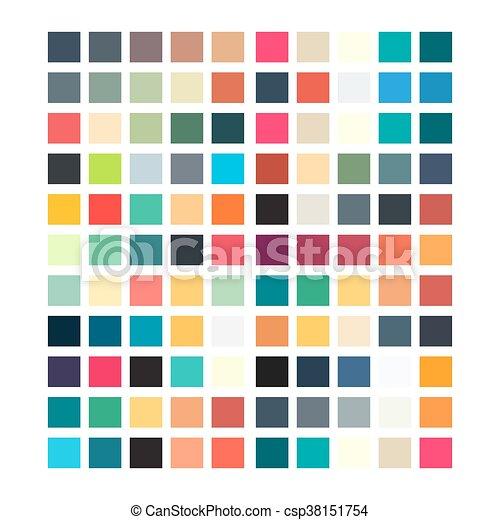 motívum, kivonat tervezés, retro, geometriai, -e - csp38151754