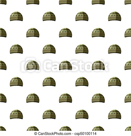 motívum, seamless, kalap - csp50100114