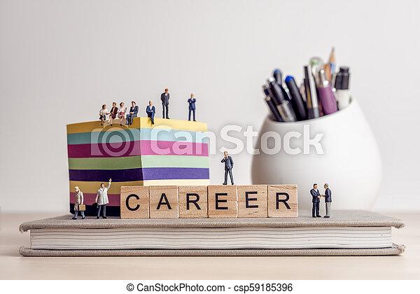 mot, carrière, panneau jeu, lettres, orthographe - csp59185396