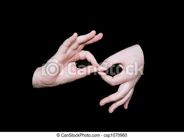 mot, interpréter, langue, signe - csp1070960