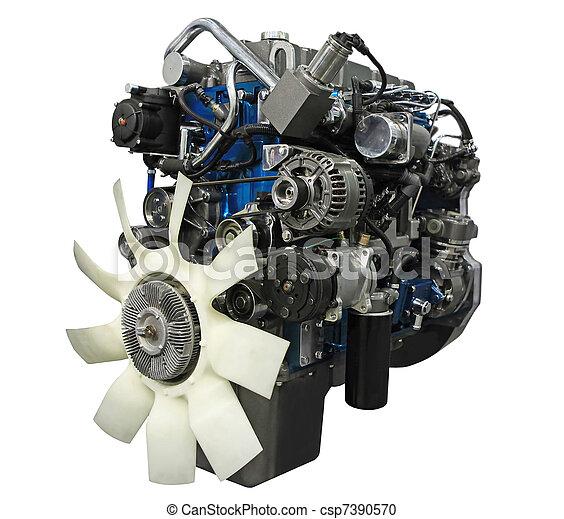 moteur, diesel - csp7390570