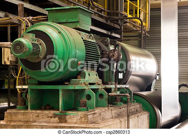 moteur, industriel, électrique - csp2860313