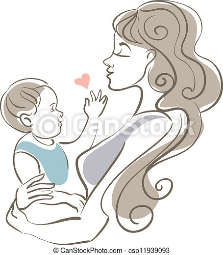 Mother and baby - csp11939093
