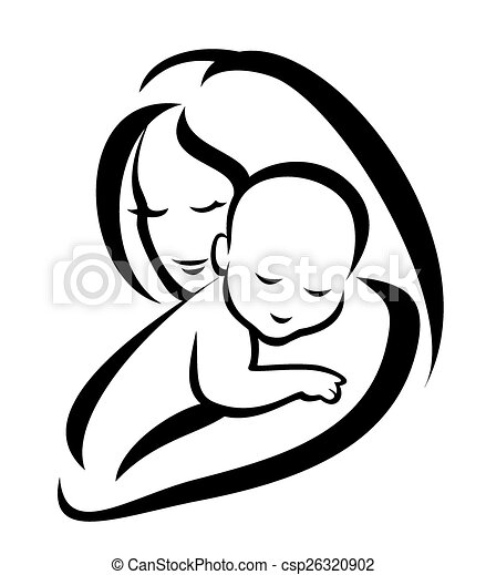Mother And Baby Illustrations And Clipart 38788 Mother And Baby