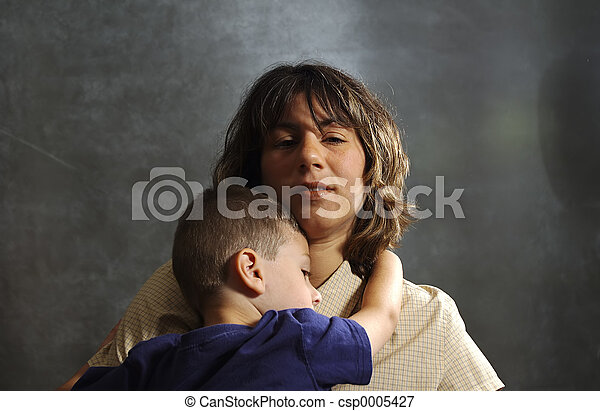 Mother and Child - csp0005427