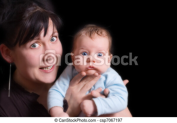 Mother and child - csp7067197