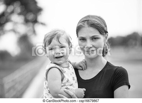 mother and child - csp16679867