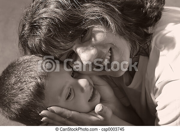 Mother and Child - csp0003745