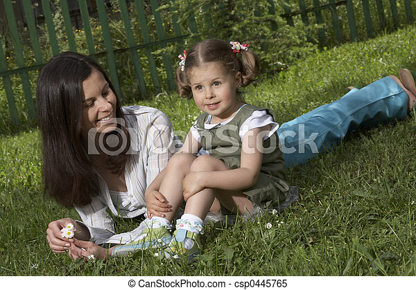Mother and Child - csp0445765