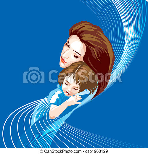 Mother And Daughter - csp1963129