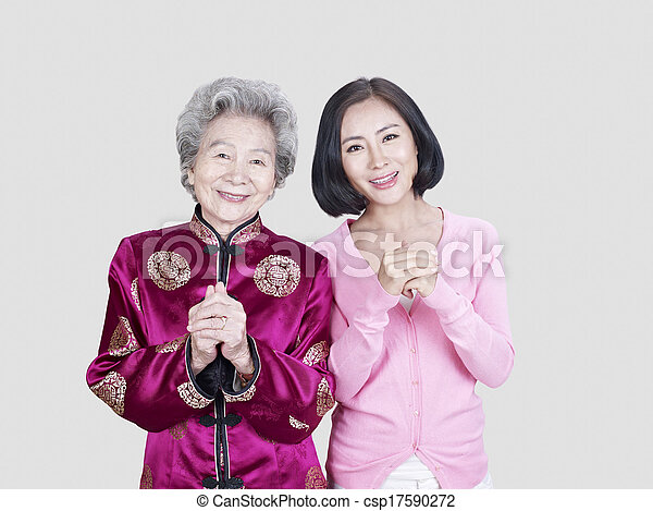 mother and daughter - csp17590272