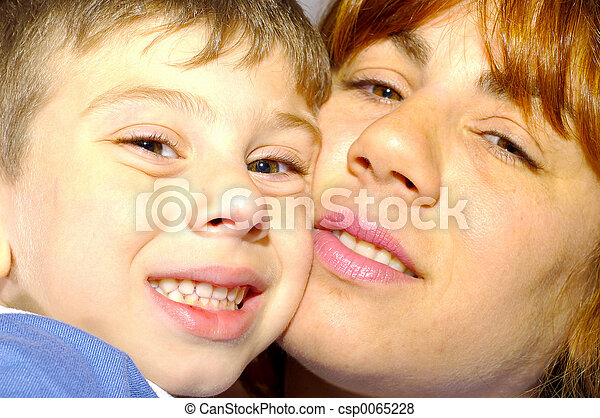 Mother and Son - csp0065228