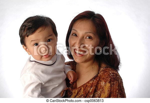 mother and son - csp0063813