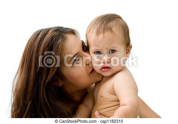 Mother & baby - csp1182310
