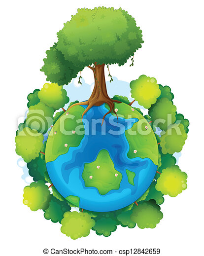 mother earth csp12842659