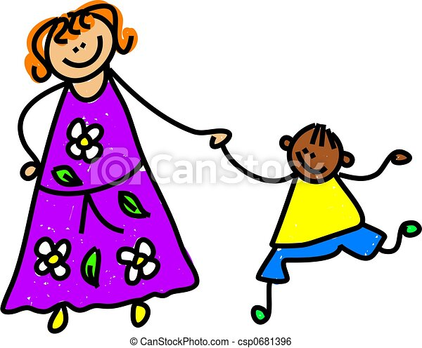 mother & son - csp0681396