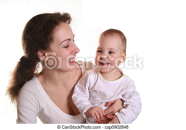mother with baby - csp0902848