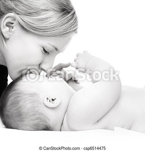 Mother with baby - csp6514475