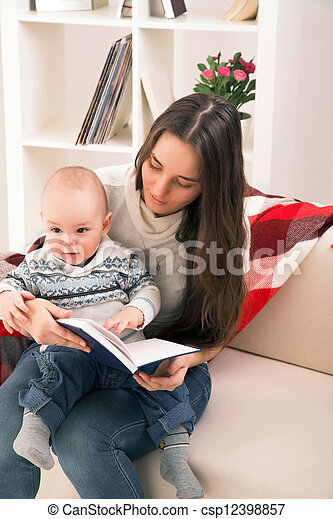 mother with son - csp12398857