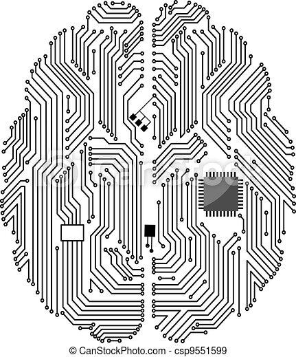 Motherboard brain - csp9551599