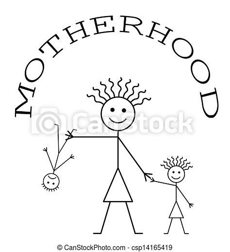 Motherhood - csp14165419