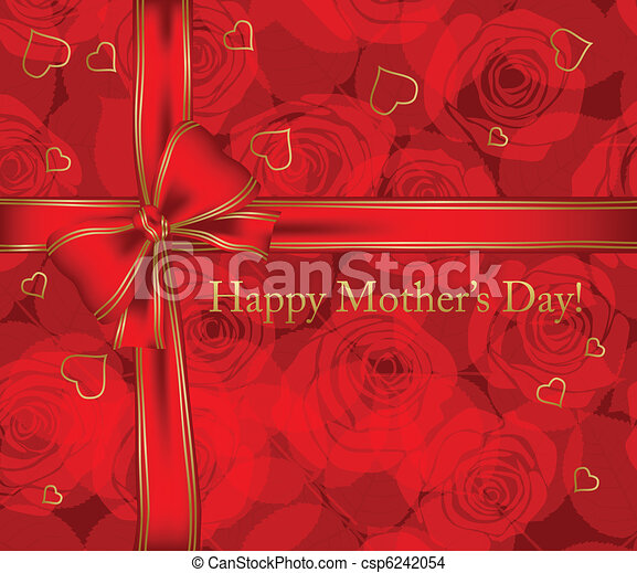 Mother's day card - csp6242054