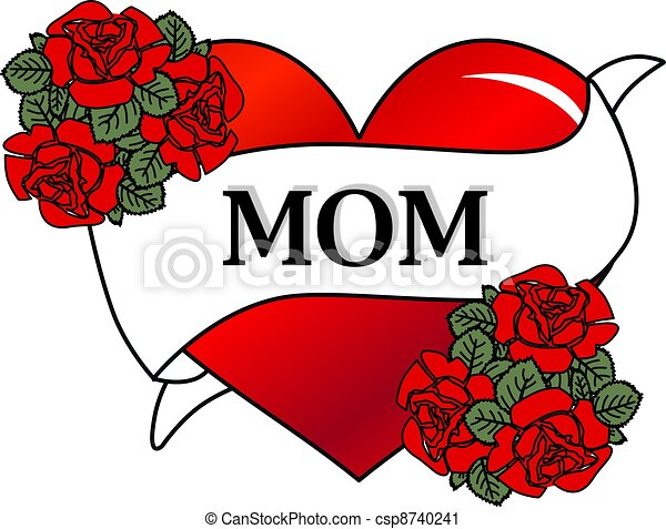 happy mothers day rh canstockphoto com mother's day clipart to color mother's day clipart images