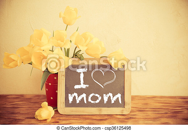 Mother's day concept - csp36125498