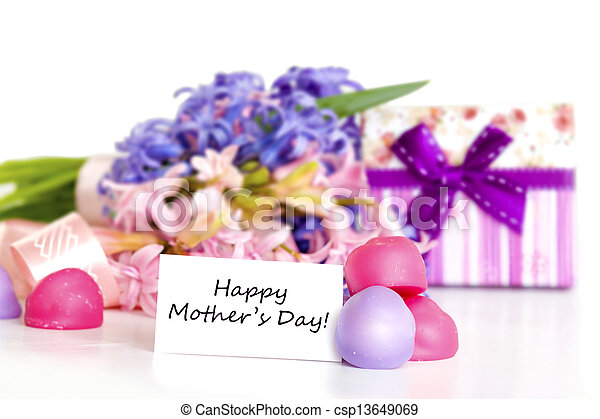 Mother's Day Concept with text - csp13649069