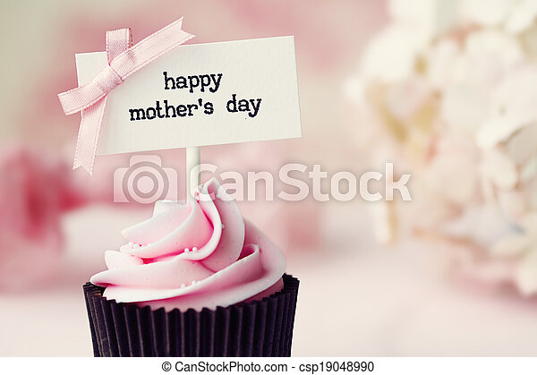 Mother's day cupcake - csp19048990