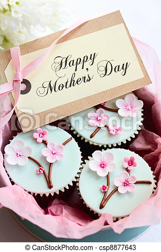 Mother's day cupcakes - csp8877643