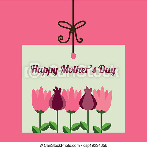 Mothers day design - csp19234858