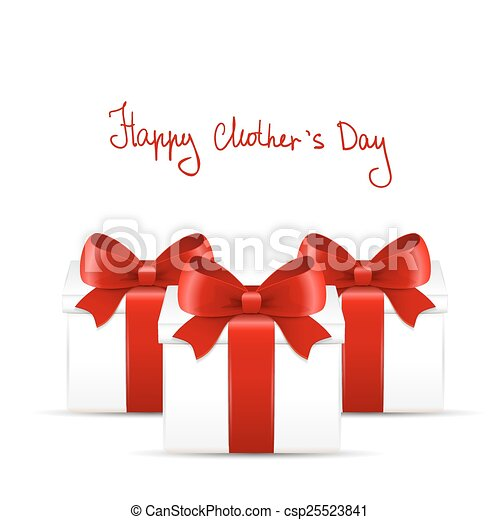 Mother's day gift and greeting card. - csp25523841