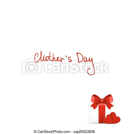 Mother's day gift and greeting card. - csp25523836