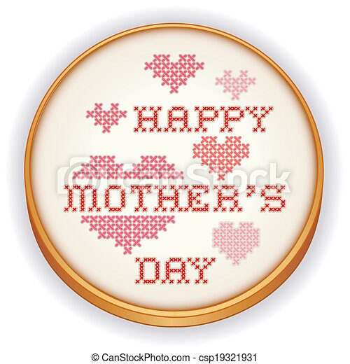Mother\u2019s Day Embroidery