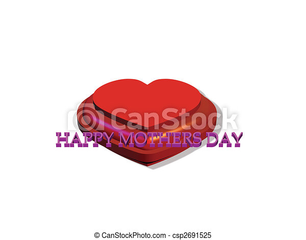 mothers day symbol of love - csp2691525