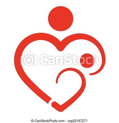 mother s heart breastfeeding vector vectors illustration search rh canstockphoto com breastfeeding clipart breastfeeding clipart black and white
