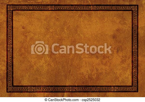 motifs, cadre, américain indien, national - csp2525032