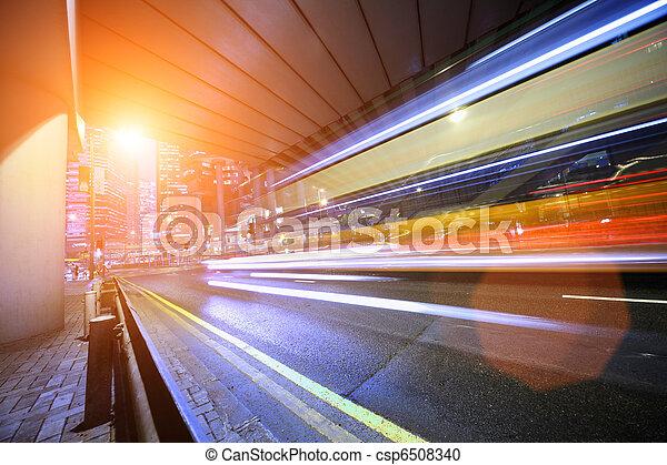 motion., スピード違反, バス, ぼんやりさせられた - csp6508340