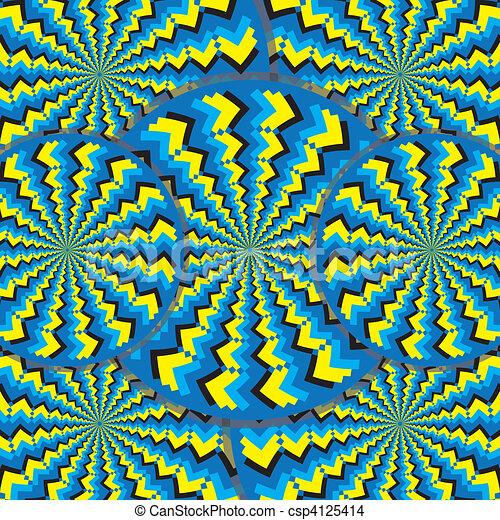 (motion, 지그재그, wheelies, illusion) - csp4125414