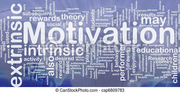 motivation, begriff, hintergrund - csp6809783